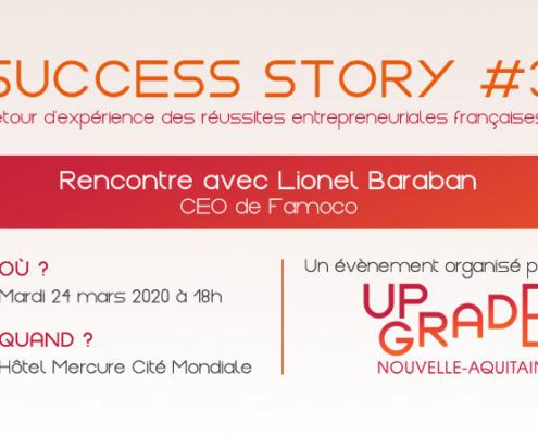 Conférence Lionel Baraban success story 3